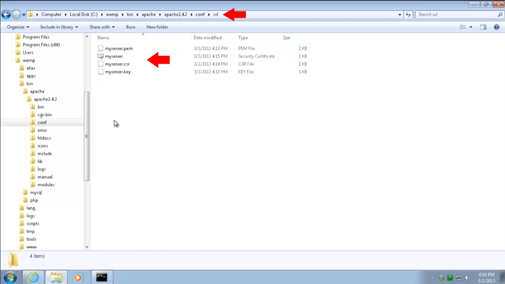 Install and configure owncloud server on windows 7 using wamp 5 move keys to ssl folder 1betcityfo Choice Image