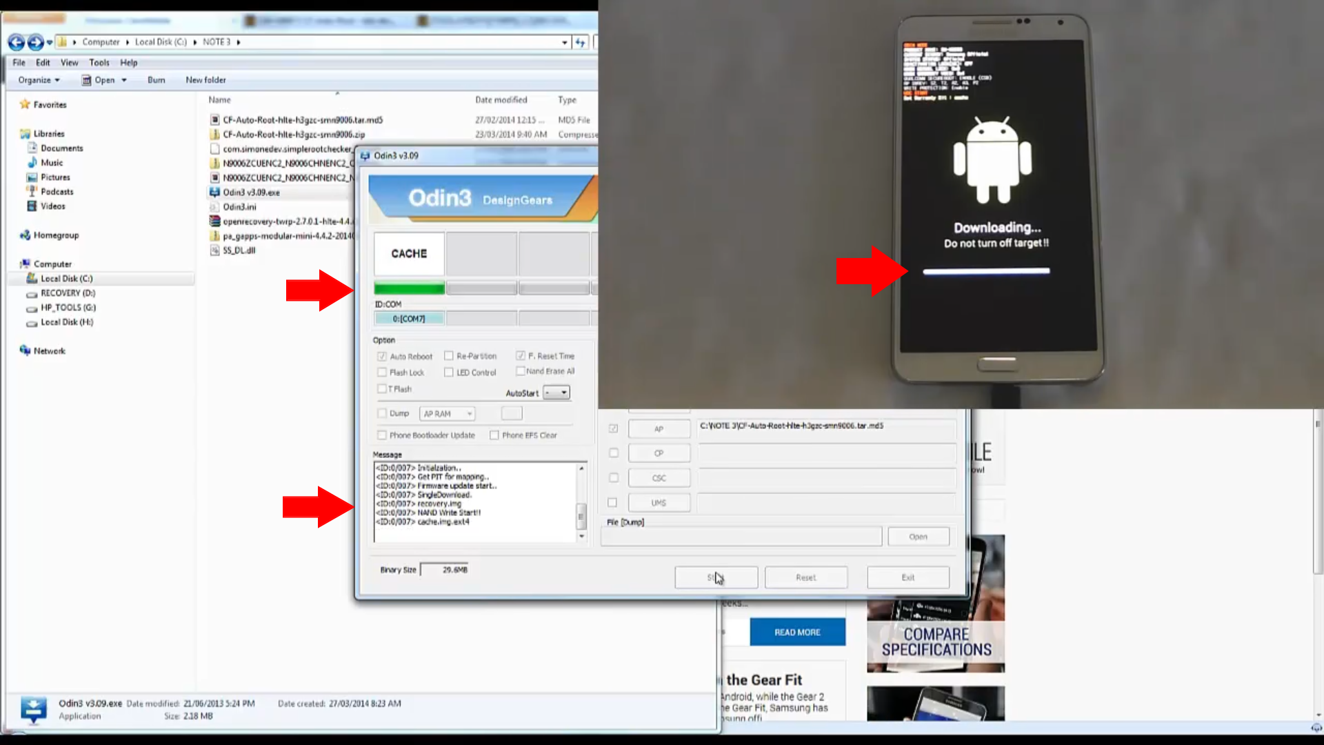 How to Root your Galaxy Note 3 running Lollipop 5 0 | LocsLikes