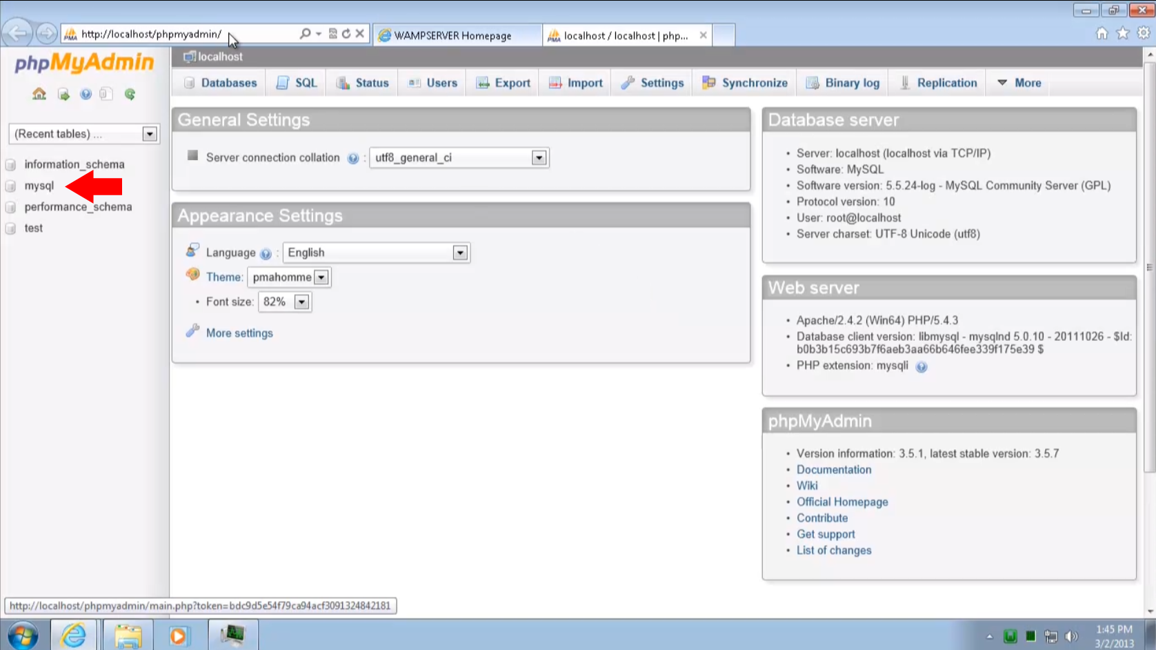 Install and Configure ownCloud Server on Windows 7 using Wamp