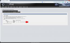 5 Disk ZFS information